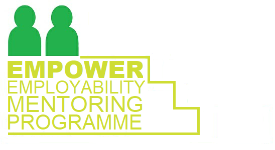 Empower Logo Dark Green and Lime Green